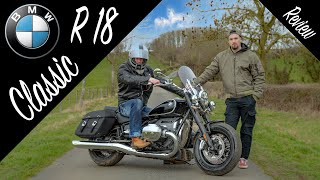BMW R 18 Classic. World First Review! The Big Boxer Motorbike with Touring Capacity Soul & Character
