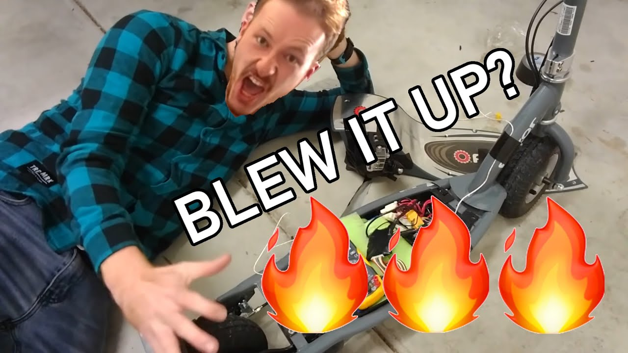 speed controller hax! scooter episode 4 youtube Razor E150 Parts Diagram