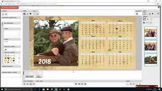Calendario mesa 6 meses por cara
