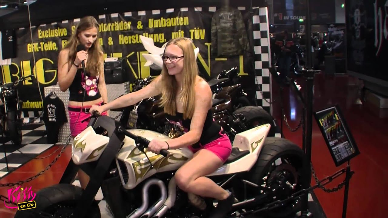 Custombike 2011 Bad Salzuflen Kitty To Go Girls Report