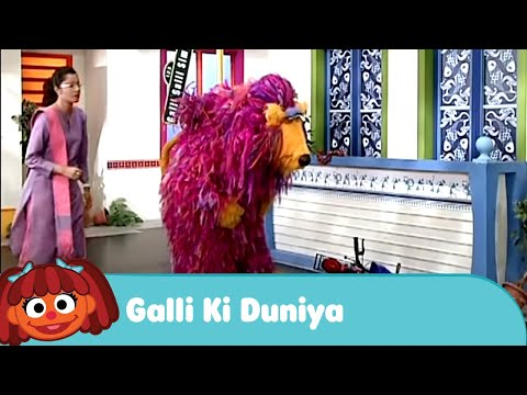 Galli Galli Sim Sim - Galli Ki Duniya | Earthquake in the Galli