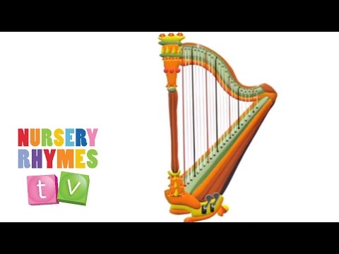 *HARP* | Musical Instruments | Nursery Rhymes TV | Music For Kids