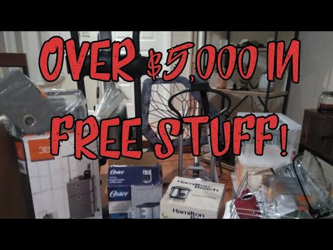 A DAYS WORTH OF DUMPSTER DIVING: 15 DUMPSTERS OVER $5000 IN FREE STUFF FROM TRASH PICKING!!!