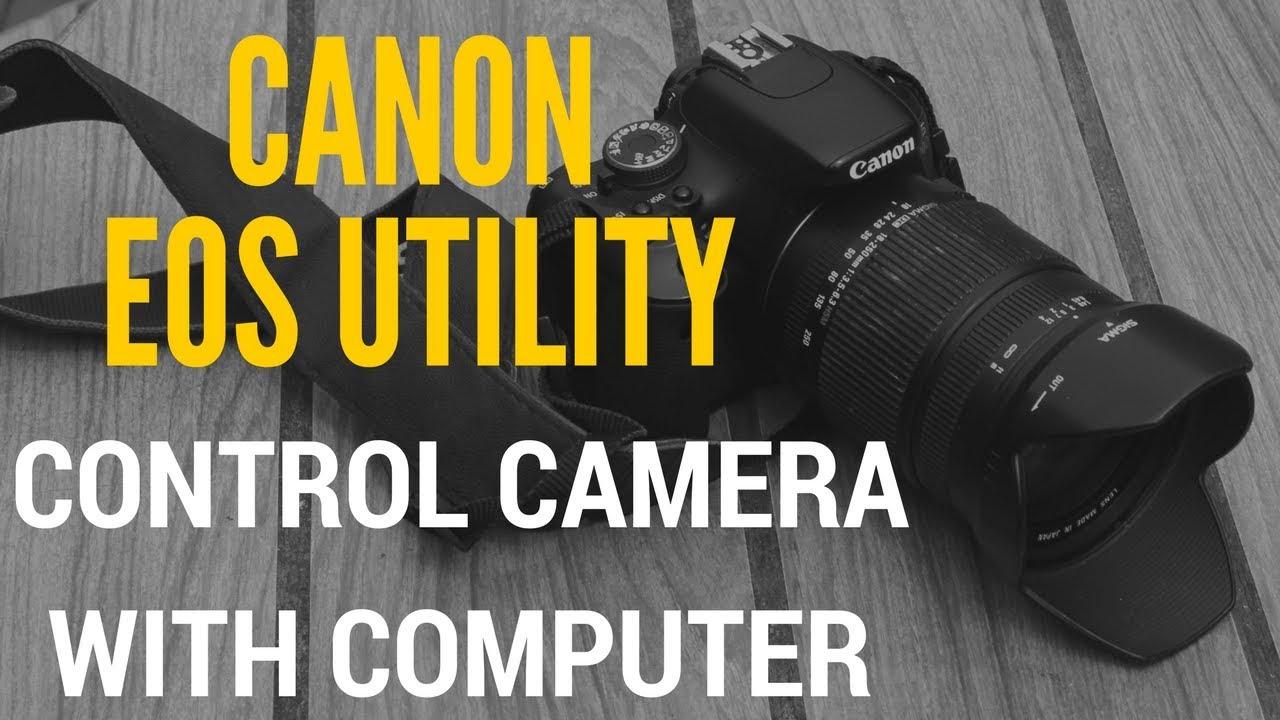 Kết nối Canon 70D với máy tính qua Wifi - Kiều Trường