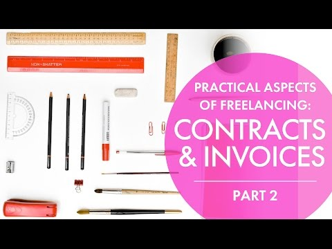 Contracts & Invoices for Artists & Illustrators