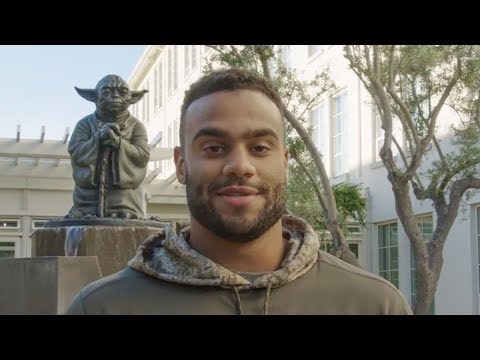 Solomon Thomas Gets a Behind-the-scenes Tour of Lucasfilm