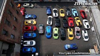 50 Lamborghinis invade NYC