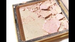 DIY- Jak opravit rozbitý pudr/stíny/tvářenku