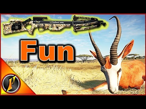 Crossbow Fun in Africa! | theHunter Call of the Wild