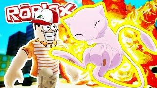 Roblox Adventures / Pokemon Fighters EX / MEW!