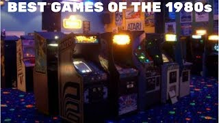 Top 10 Arcades Games Every Year From 1980-1989 (100 Games)
