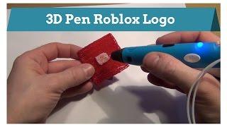 3D Pen Creation ~ Roblox Logo