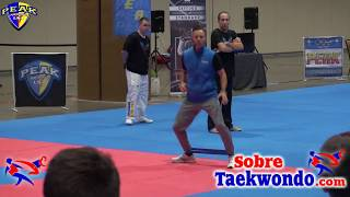 Specific conditioning training in Taekwondo