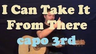 I Can Take It From There (Chris Young) Guitar Lesson Easy Strum Chords Licks How to Play Tutorial