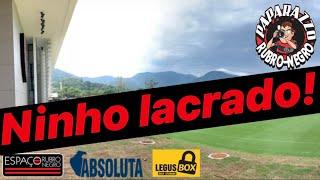 Segundo Jornal, Ninho do Urubu está sendo totalmente lacrado pela Prefeitura! Treino na Gávea!