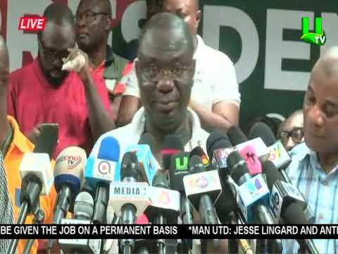 NDC Presidential Primaries: John Dramani Mahama declared winner