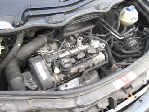 Audi A2 FSI Engine 1.6 running test 58k miles BAD code - YouTube