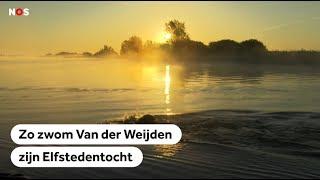 ELFSTEDENZWEMTOCHT De mooiste beelden van de zwemtocht van Maarten