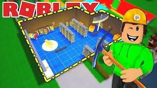 BUILDS A BASEMENT IN ROBLOX BLOXBURG!