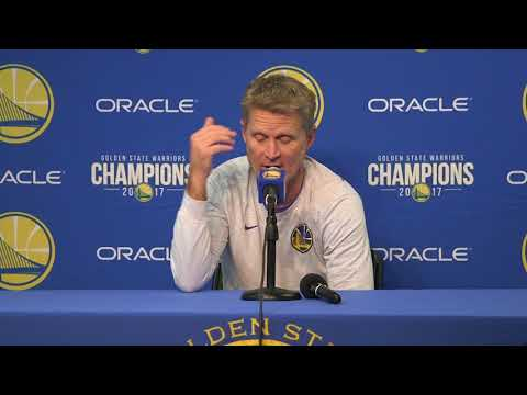 Steve Kerr compares gun violence in America to automobile injuries