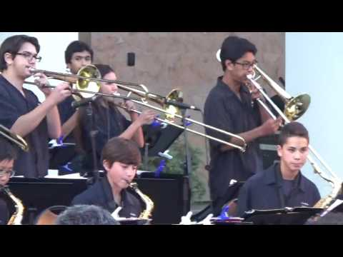 Lindero Canyon Middle School Jazz A @ Westlake Civic - May 20, 2016