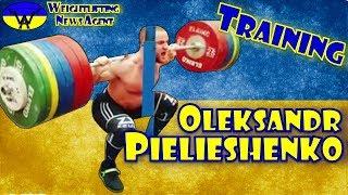 Oleksandr Pielieshenko (UKR, 85KG) | Olympic Weightlifting Training | Motivation