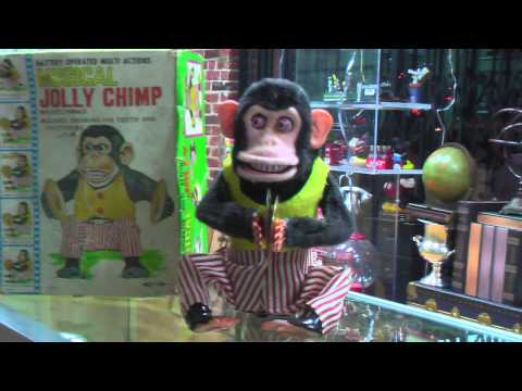 Antique Musical Jolly Chimp | Hollywood Pawn Shop
