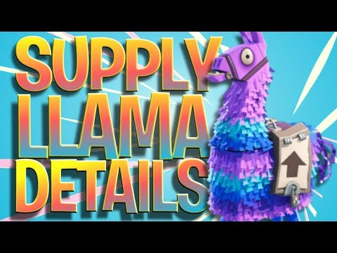 How To Find A Supply Llama - Supply Llama Details (What Do You Get  In A Supply Llama)
