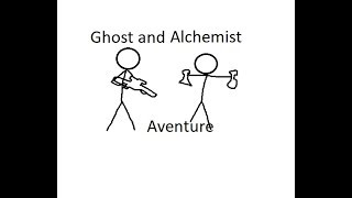 Ghost and Alchemist aventure :D Roblox Critical strike