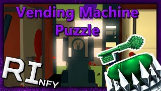 Vending Machine Puzzle (JADE KEY) | Roblox Phantom Forces | Ready Player One Event