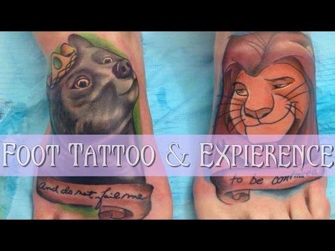 Foot Tattoo Expierience & Footage