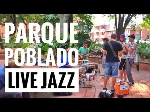 Colombia - Live Jazz Music in Parque Poblado Medellín