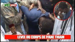 Levée du corps de Iyane Thiam: Son fils inconsolable