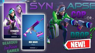 *NEW* Synapse Skin & Hex Wave Wrap In Fortnite! Is It A COP Or A DROP? (Thank You One Lucky Sikh!)