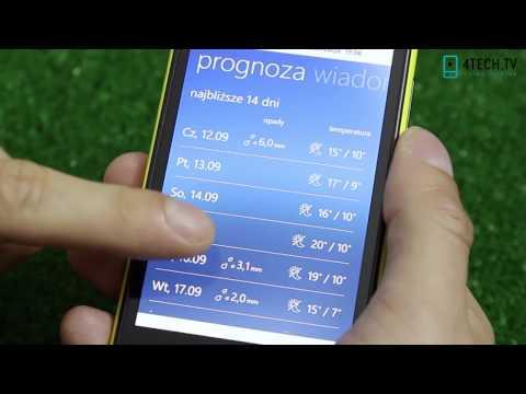 TVN Meteo - test wideorecenzja aplikacji (Windows Phone)