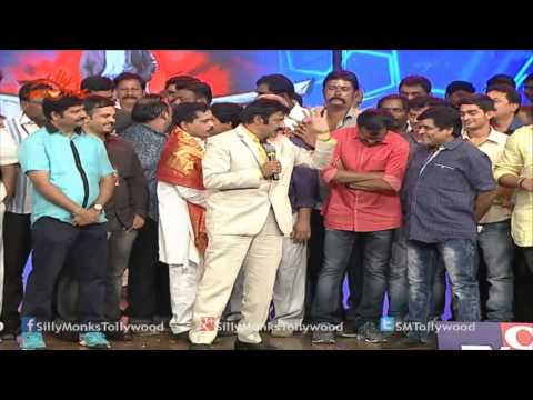 Balakrishna Funny Story & Powerful Punch Dialogues On Stage - Lion Audio Launch