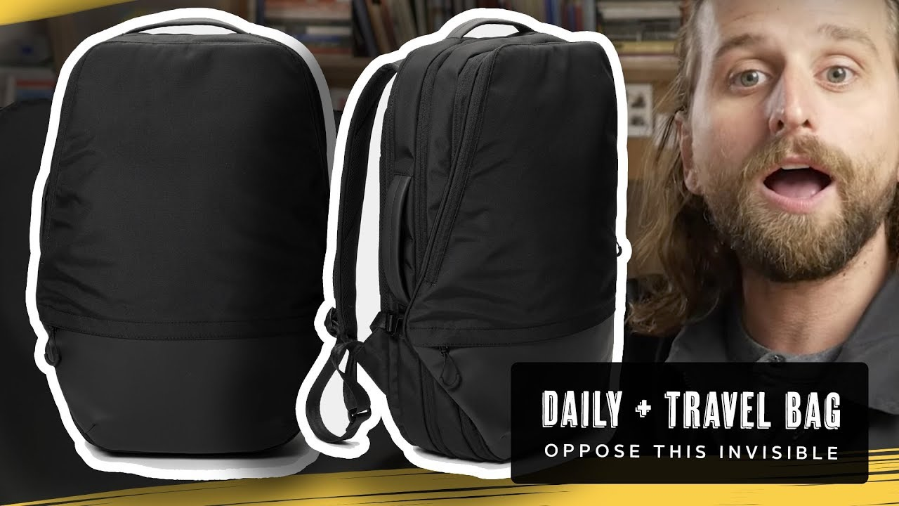 OpposeThis Invisible Carry-On Massive Review - YouTube 7b326cdae1907