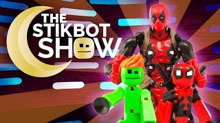 The Stikbot Show ⚔ | The one with Deadpool and Botpool