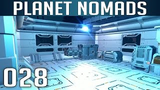 PLANET NOMADS [028] [Base weiter ausbauen] [S01] Let's Play Gameplay Deutsch German thumbnail