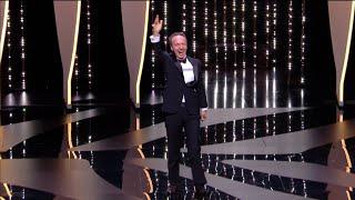Roberto Benigni fait son show pour remettre le prix d'interprétation masculine - Cannes 2018