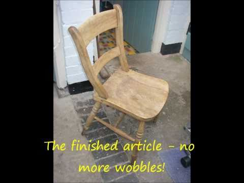 wooden chair repair