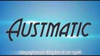 Cửa cuốn Austdoor sử dụng công nghệ Austmatic