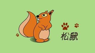 如何画松鼠|儿童绘画和颜色|零基础轻松学画|How to draw a squirrel