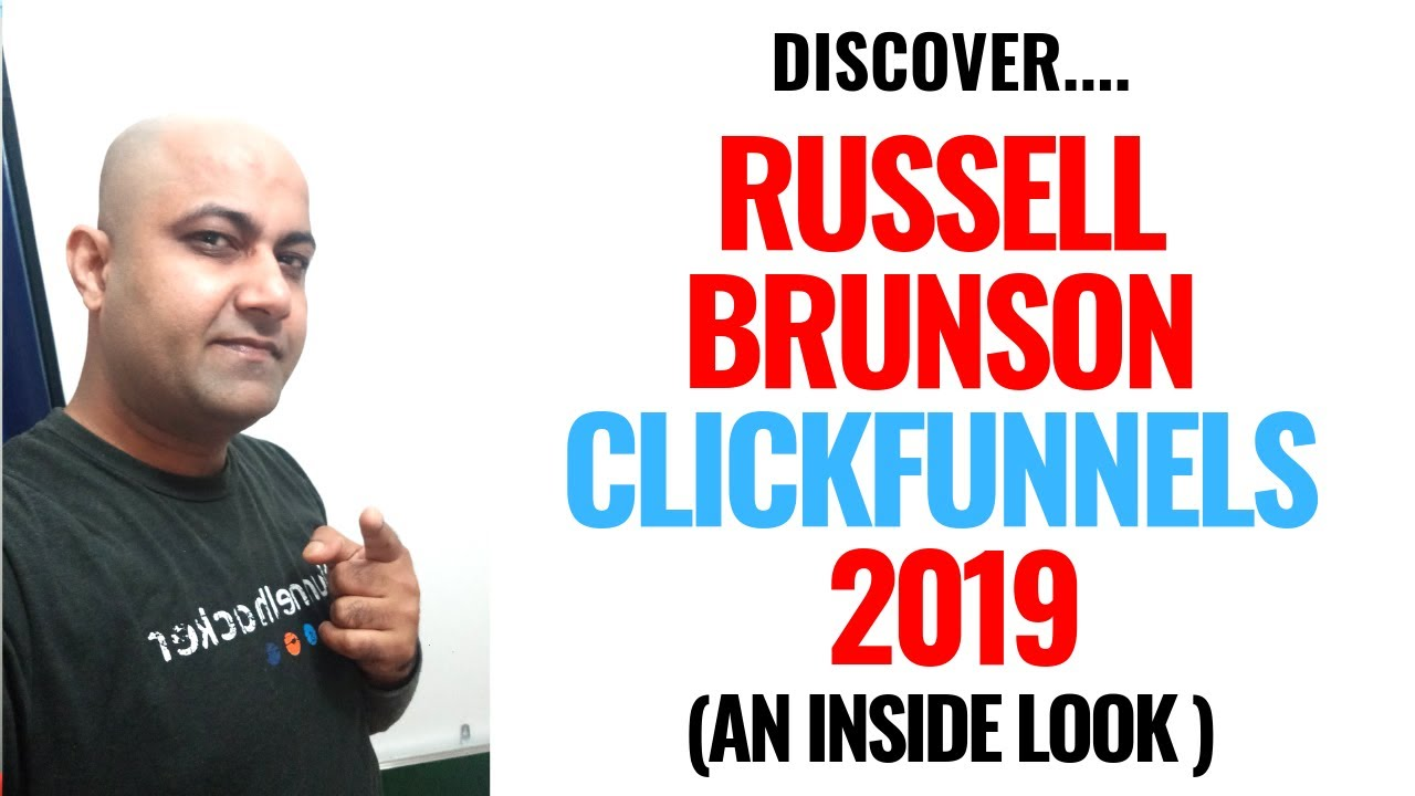 Russell Brunson ClickFunnels 2019 - (An Inside Look Showing Everything About ClickFunnels)