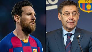 Lionel Messi wants to LEAVE Barcelona? Huge PRESSURE on Bartomeu?