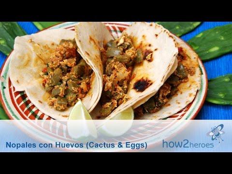 Nopales con Huevos (Cactus w/ Eggs)