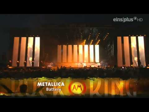 Metallica - intro + Battery - Live Rock Am Ring 2014