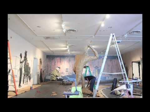 Ain't Goin' Home -- Installation -- Chris Stain & Leon Reid IV -- Creative Alliance