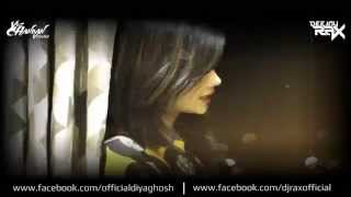 Jeena Jeena | Badlapur | Female Cover | Diya Ghosh | Remix - Deejay Rax