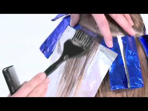 Колористика. Окрашивание седых волос безаммиачной краской
